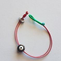 Fabric Bracelets, Jewelry Bracelets, Bangles, Jewellery, Necklaces, Diy Crafts Jewelry, Diy And Crafts, Japanese Ornaments, Evil Eye Bracelet