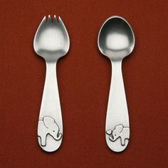 Elephant Spoon Set