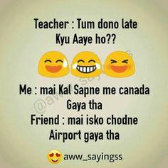 seriously taane taane par likha h. Funny School Jokes, Very Funny Jokes, Crazy Funny Memes, Really Funny Memes, Funny Facts, Hilarious, Lame Jokes, True Facts, Stupid Funny