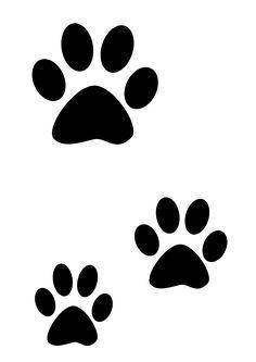 Pochoir pattes de chat » - Loisirs créatifs et activités manuelles