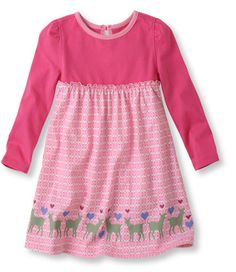 Infants' and Toddlers' Unshrinkable Knit Dress, Long-Sleeve: Skirts and Dresses | Free Shipping at L.L.Bean