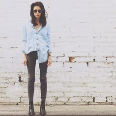 Pepa  Mack - Rollas Jeans, Zara Boots, Asos Shirt, Casio Watches, Nasty Gal Accessories - State Tropper