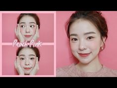 (178) Peach Pink Makeup🌸🍑 Get Ready with Me🌸🍑 - YouTube