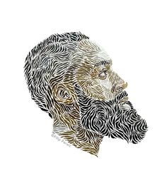 Illustrator Filip Peraić James Harden Portraits | Complex