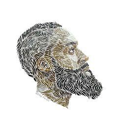 Illustrator Filip Peraić James Harden Portraits | Complex