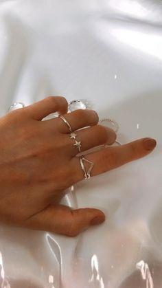 Hand Jewelry, Dainty Jewelry, Photo Jewelry, Cute Jewelry, Silver Jewelry, Women Jewelry, Fashion Jewelry, Clothing Photography, Jewelry Photography