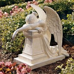 Design Toscano Angel of Grief Monument Statue
