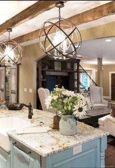 Stunning rustic kitchen cabinet makeover ideas (16)