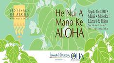 """Wailuku, HI The Island wide celebration of Maui Nui. He nui a mano ke aloha  """"Aloha is abundant """" This year's theme is symbolized by the delicate white blossoms of the 'ilihia plant. Native to Hawai'i, this s… Click flyer for more >>"""