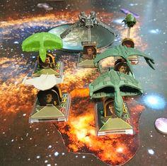 Star Trek Attack Wing Romulan Fleet (c) Robert Aehnelt