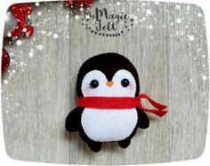 Adornos navideños fieltro adorno que Navidad por MyMagicFelt