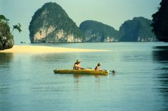 Sea Canoeing in Thailand