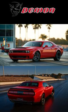 2018 Dodge Challenger SRT Demon is a barely street-legal drag racer with a V8 that can produce up to 840 HP and 770 pound-feet ... Click on photo to read more.