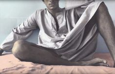 Youssef Nabil, Ahmed in Djellabah, New York, 2004 A Kind Of Magic, Gelatin Silver Print, Exhibition Space, Contemporary Photography, Giza, Belly Dancers, Photo Colour, Color, Film Posters
