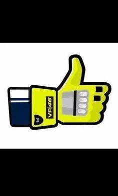 We like Valentino Rossi!