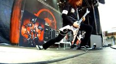 "Arch Enemy - Khaos Legions Tour  Michael Amott playing ""Bloodstained Cross"" live."