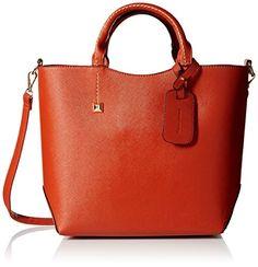 Hynes Victory Womens Boutique Top Handle Handbag (Red-ora...