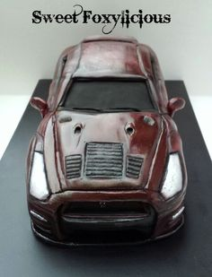 Nissan GTR R35 Car Cake