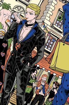 Twoucan - せつなの Jojo Bizzare Adventure, Manga, Jojo Bizarre, Anime, Nerd, Animation, Fan Art, Cartoon, Comics