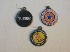Crown cap pendants Kronkorkenanhänger