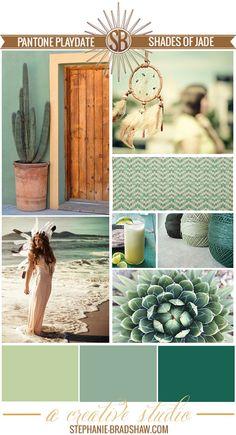 Shades of Jade...The StyleSphere by Stephanie Bradshaw
