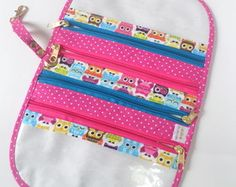 Necessaire Clutch Pattern, Coin Purse, Stationery, Purses, Wallet, Pencil, Patterns, Everyday Bag, Makeup Holder