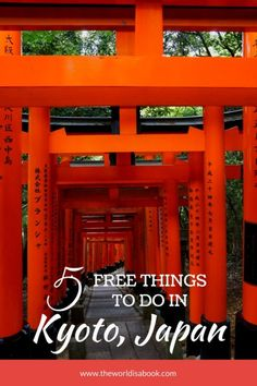 5 Free Things to do in Kyoto with Kids