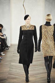 Ralph Lauren Fall 2008 Ready-to-Wear Fashion Show - Anastassia Khozzisova