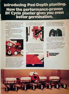 IH Cyclo Planter Ad