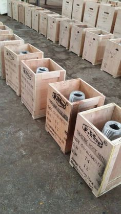 tricone bits package wooden box