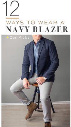 how to wear a navy blazer men Source by jaiwindish blazer Blazer With Jeans Men, Blue Blazer Outfit Men, Navy Blazer Men, Blazer Outfits Casual, Mens Fashion Blazer, Outfit Jeans, Mens Blazer Styles, Casual Jeans, Men's Navy Blazers