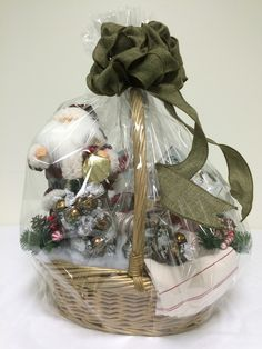 Santa's Basket - for auction online starting Nov 10 at 7pm