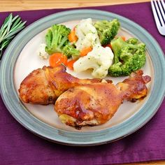 Apple Butter Roasted Chicken. Click on picture twice for recipe.