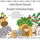 This purchase includes: Classroom Reader Workshop Signs with a Wild About School! Jungle theme. Put a cute little jungle theme on your classroom wa...