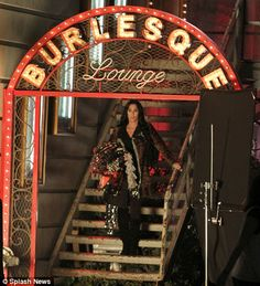 Burlesque signage
