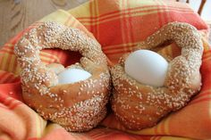 Easter Greek bread basket