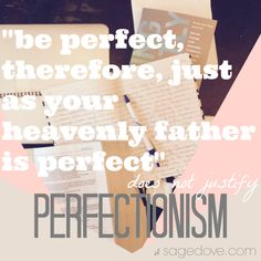 A Cautionary tale about perfectionism and actually achieving true perfection.
