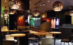 We are a global and creative design studio in Geneva, Tokyo and Beijing. Cafe Japan, Interior Architecture, Interior Design, Wooden Tables, Lampshades, Barista, Table And Chairs, Benches, Hospitality