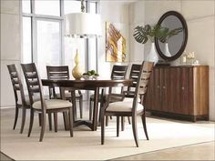 Round Dining Table For 6 Choose Midcityeast Room Sets