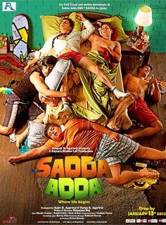 Sadda Adda (2011) Lancaster, Movies To Watch Online, Indian Movies, Watches Online, Bollywood, Comedy, Drama, Romance, Capri