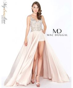 aec098ea9aa Mac Duggal 66447M prom 2018 evening collection dress. Roztomilé Šaty