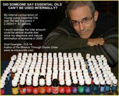 Internal use essential oils