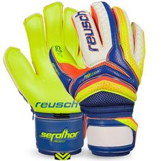 Reusch Serathor Pro G2 Ortho-Tec Goalkeeper Gloves - model 3770950