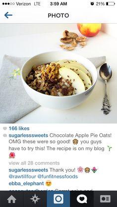 Sugarless sweets breakfast - South Beach