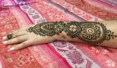 Moroccan inspired henna tattoo sleeve by Ḵayāl henna studio. Instagram & Facebook: @kayalhennastudio