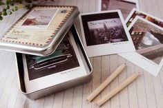 New York Story Polaroid style Postcards, $17.40 / 50