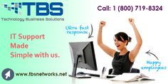 http://www.tbsnetworks.net - TBS Networks provide IT support services to sustain your business working efficiently and keep your workforce productive.