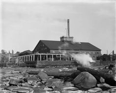 Lumber Mill | Photograph | Wisconsin Historical Society