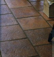 Tiling: off-square / staggered pattern, texture, wide grout