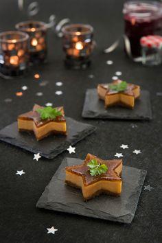 Cheesecakes au foie gras et à la Confiture de Figues Bonne Maman® Plus